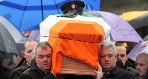 Adrian Donohoe funeral
