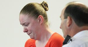 Aisling Brady McCarthy in court. Picture: AP
