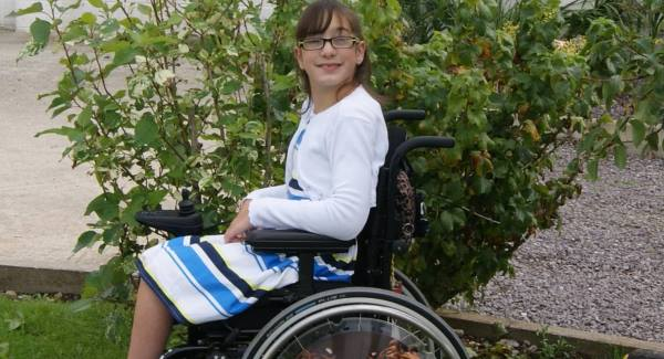 Aisling Tanner: Travels to Scotland three times a year, where her parents train to carry out special exercises to strengthen the parts of Aisling's body  affected by cerebral palsy.