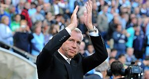 Alan Pardew takes his side to Old Trafford