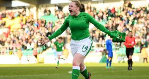 Amber Barrett's Green dream shifts to Euros
