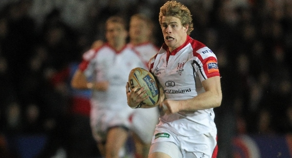 Andrew Trimble: The Ulster star believes the Sportsground provides for a very charged atmosphere and expects a massive challenge tonight.