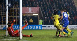 Andy Mangan's goal