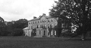 A piece of architectural history: The entrance portico to the long-demolished Mote Park House in Co Roscommon.