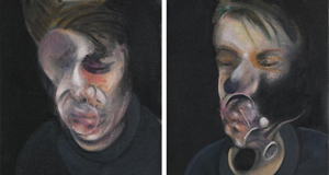 Two Studies for a Self Portrait by Francis Bacon sold for £14.7 million at Sotheby's, London, this week.