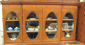 A 19th century display cabinet will be at Marsh's on October 4.