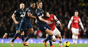 Arsenal v United last season