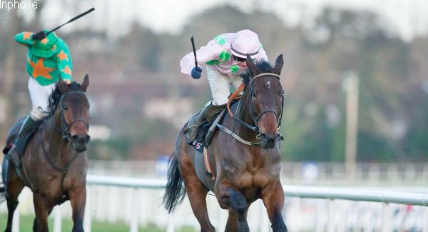 Arvika Ligeonniere ridden by Paul Townend winning at Leopardstown over Christmas.Picture: INPHO