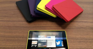 The Amazon Fire HD which was launched in New York.