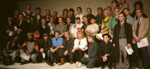 The original line up of Band Aid.