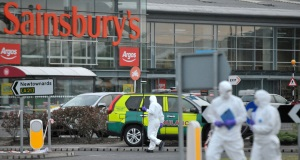 Man gunned down in supermarket car park in front of young son