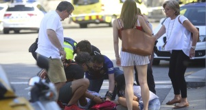 LATEST: Three reported dead after van driver mows down pedestrians in Barce...