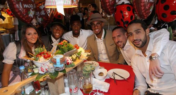 WATCH: Bayern Munich players love Oktoberfest so much