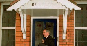 Bertie Ahern leaving St Luke's in 1994, when he wasminister for finance. The house, in Dublin's northside, is for sale for €595,000. Picture: Photocall Ireland