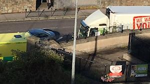 Man dies after being struck by lorry in Cork