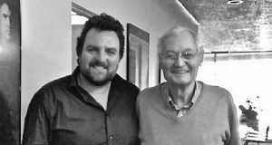 Brian Reddin with Roger Corman