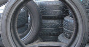 File photo of car tyres
