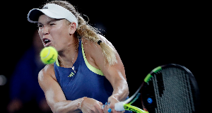 Caroline Wozniacki suffers upset as Monica Puig advances to third round in Miami