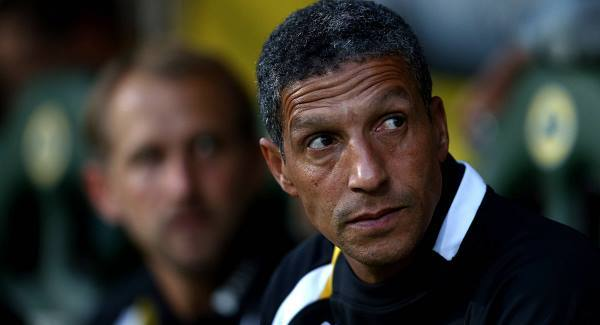 Chris Hughton hails Brighton's promotion to the English Premier League