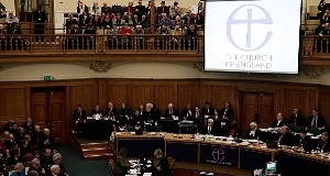 A file photo of a Church of England synod.