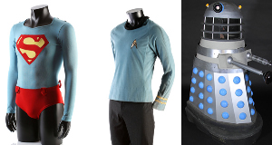 Spock's costume and a Dalek among memorabilia at auction