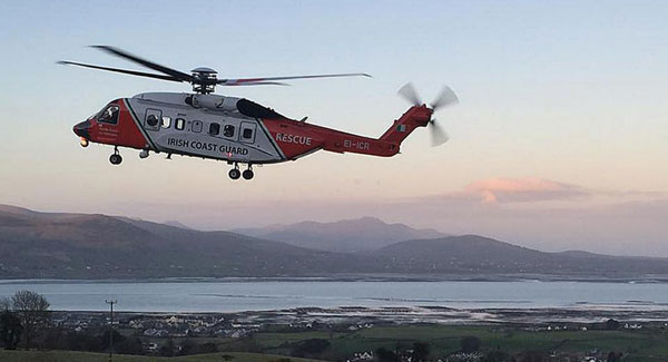 Rescue 116: Rough conditions hindering search for three missing crew members