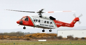 File picture of the Coastguard helicopter. Picture: Pat Flynn