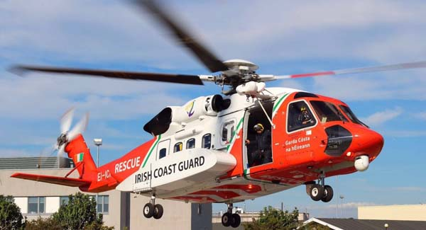 Search operation underway for missing coastguard helicopter and crew