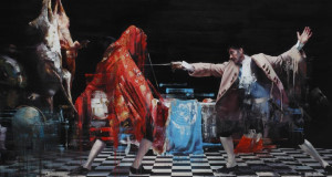 Conor Harrington's 'Dance With The Devil' sold for over €100,000 in London this week.