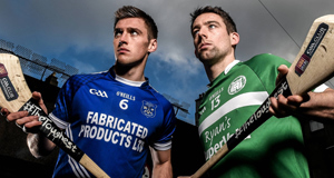 Cratloe's Conor Ryan, left, and Kilmallock captain Graeme Mulcahy  are expecting a classic AIB Munster SHC final this weekend. Picture: Stephen McCarthy.