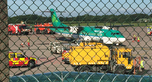 'Smoke in cockpit' forces plane into Cork emergency landing