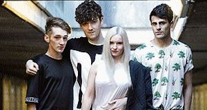 Clean Bandit, l-r, Luke Patterson, Jack Patterson, Grace Chatto and Milan Neil Amin-Smith. &#39;Rather Be&#39; was one of this summer&#39;s big smashes.  <