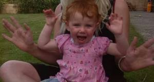 Daenerys Crosbie, aged 2, who was killed in a crash in Waterford City yesterday  when her buggy was struck by a truck. Her mother Carole-Anne received minor injuries and suffered from severe shock.
