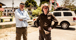 Dara O'Briain and Ed Byrne begin a new travel show, Dara And Ed's Great Big Adventure, on RTÉ One on Thursday.