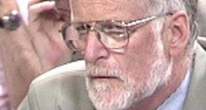 David Kelly being questioned by the Commons Select Committee in 2003.