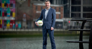 Denis Irwin in Dublin yesterday for the announcement that the Setanta Sports pack will broadcast every single live game from both the Champions League and the Europa League from the 2015/2016 season