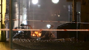 Fifth man arrested in connection with suspected Derry car bomb