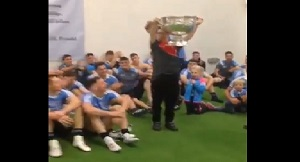 Victorious Dublin team make this young Derry fan's day