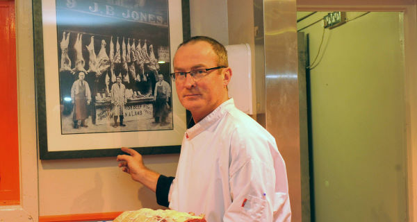 Des Cahill in his butcher shop in Ballintemple, Cork. The Fine Gael city councillor vowed to use his experience to show politicians the 'reality on the ground'. Picture: Des Barry