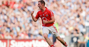 BACK IN THE DAY: Donncha O'Connor turns to celebrate after finding the net from a penalty in Cork's victory over Dublin in the 2010 All-Ireland SFC semi-final at Croke Park. The football landscape has changed dramatically since that game.
