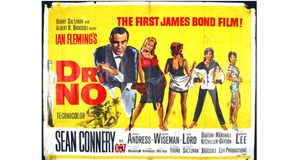 A film poster of Dr. No sold for 1,400 at Whyte's in Dublin last Saturday.