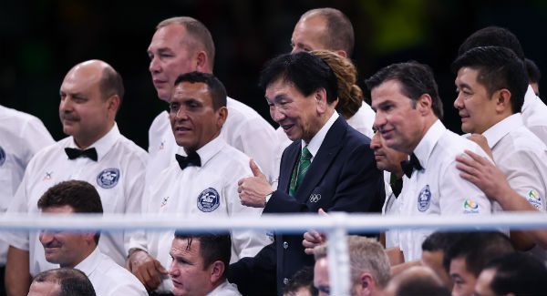 Suspended AIBA president Wu agrees to stand down from AIBA