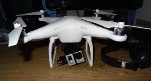 File photo of a quadcopter Drone