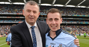 John Costello with Son Cormac