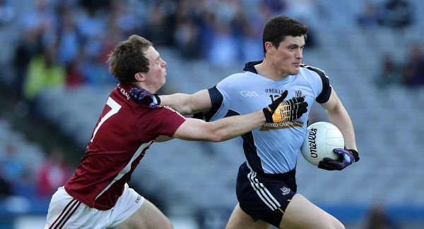 Dublin's Diarmuid Connolly with John Gaffey of Westmeath. Picture: INPHO