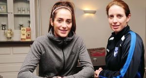 The two Dwyer sisters from Cork.