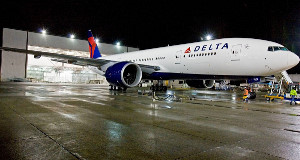 A file photo of a Delta plane.