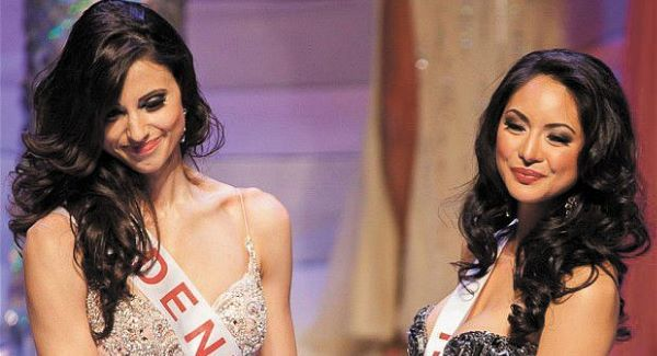 Denise Garrido (left) and Riza Santos