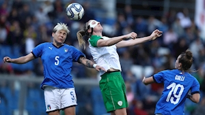 Strong start not enough for Ireland against Italy
