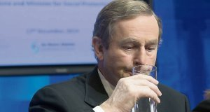 The glass is half-empty: Taoiseach Enda Kenny has infuriated voters, despite steadying the economy.